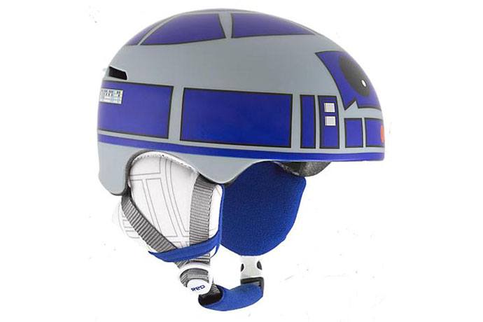 R2D2 cycle helmet