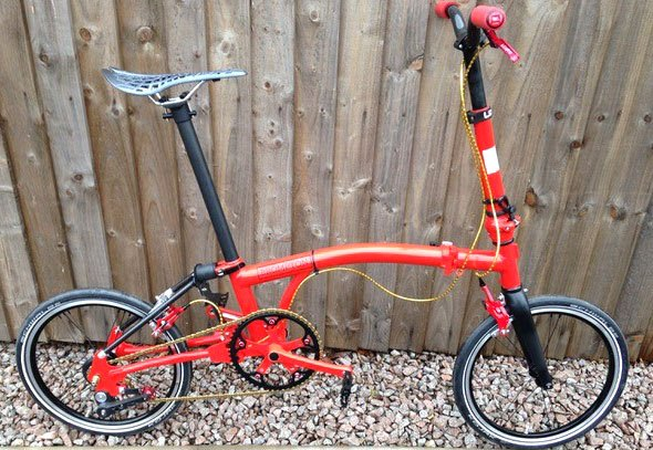 world's lightest brompton