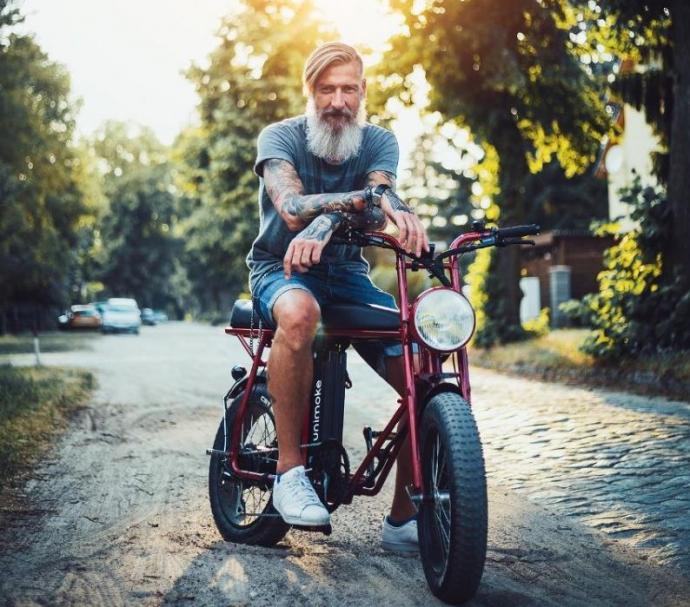 unimoke pedelec e-bike