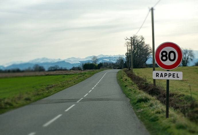France speed limit
