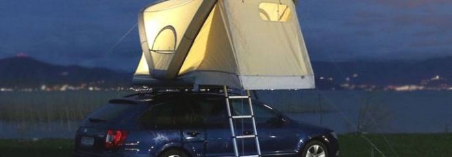 inflatable roof tent