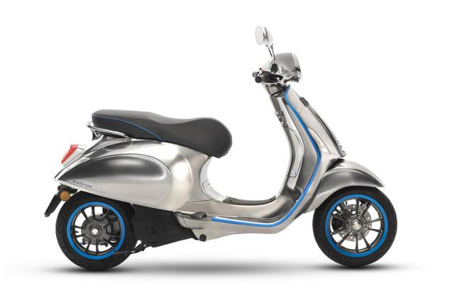 Vespa Electric Scooter Available To Order From Next Month