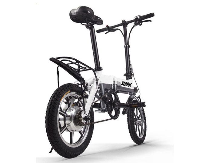electric bicycle folder