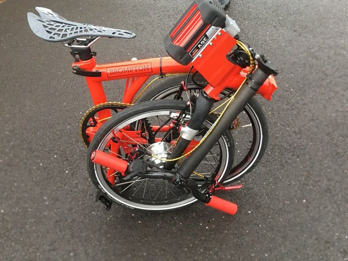 DIY brompton electric