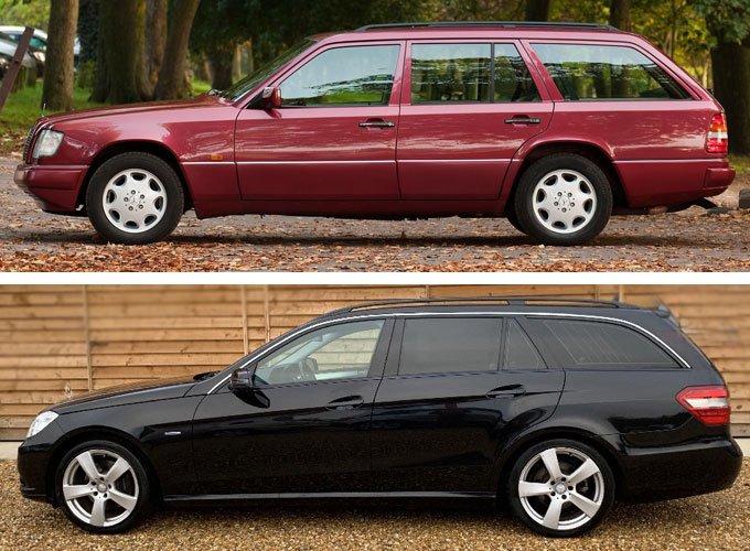 Mercedes bland spot