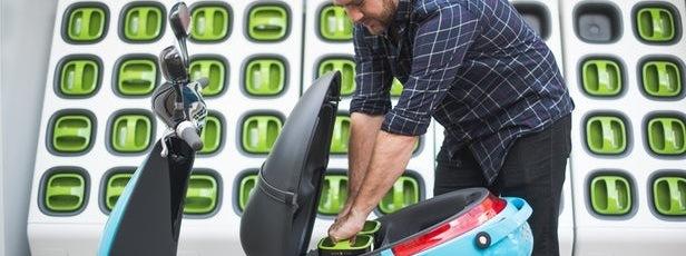 gogoro electric scooter share scheme
