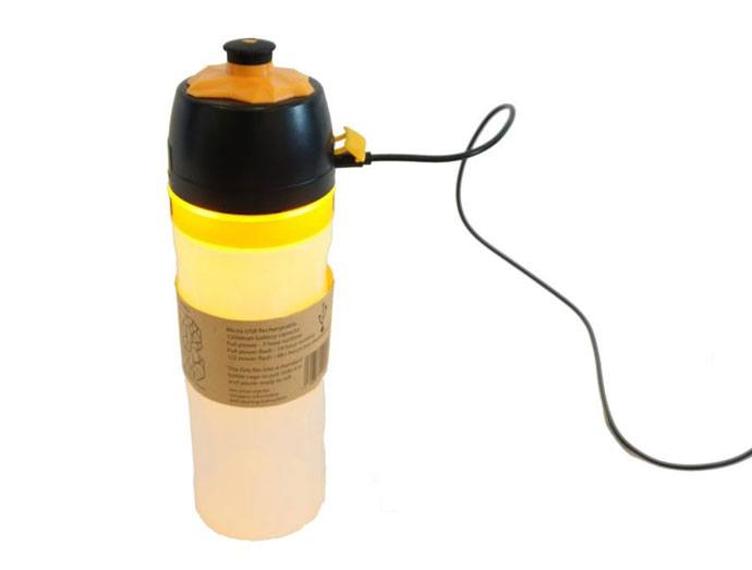 orb water bottle with light