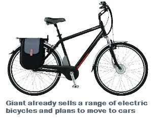 Bicycle Giant To Build Electric Cars Eta