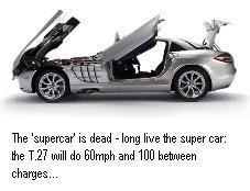 F1 designer to build world s most efficient electric car eta for Most efficient electric motor